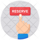 Reserve Booked Reservation Icon
