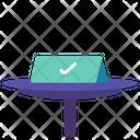 Reserve Table Desk Icon
