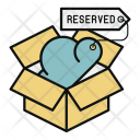 Reserved Box Cloud Icon
