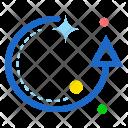 Reset Circle Up Icon