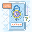 Restart Password Refresh Password Reboot Password Icon