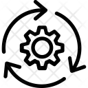 Reset Cog Refresh Icon