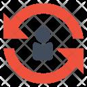 Reset User Repeat Icon