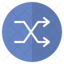 Reshuffle Reposition User Interface Icon
