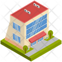 Building Company Residence Icon