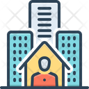 Resident Inhabitant Denizen Icon