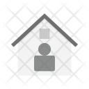 Resident House Agent Icon