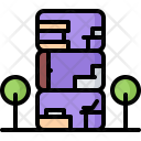 Residential Module House Icon