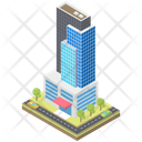 Residential Apartments Building Apartments Icon