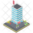 Residential Building Building Apartments Icon