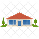 Residential Building Urban Home Villa Icon