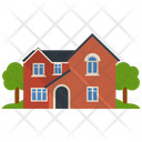 Residential Building House Villa Building Icon