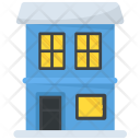 Residential Building House Icon