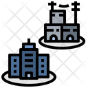 Residental Difference Gap Icon