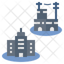 Residential Buildings Icon