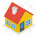 Residential House Shack Home Icon