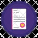 Resignation Letter Resignation Document Job Leave Application Icon