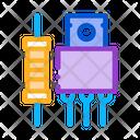 Radio Spare Parts Icon