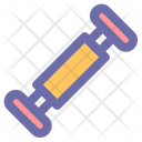 Resistance Band Strength Icon
