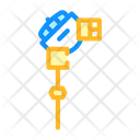 Resistance Thermometer Color Icon