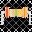 Resistor Semiconductor Electronics Icon