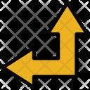 Up Left Arrow Resize Move Icon