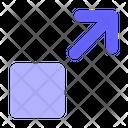 Resize Move Arrow Icon