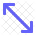 Resize Arrow Arrows Maximize Icon