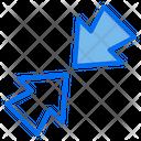 Resize Minimize Scale Icon