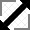 Resize Arrow Expand Icon