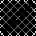 Resize Minimize Diagonal Arrow Icon