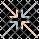 Resize Arrows Minimize Icon