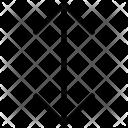 Resize Vertical Arrow Icon