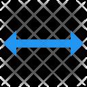 Resize Horizontal Arrow Icon