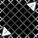 Arrow Resize Low Icon