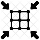 Resize Small Arrows Icon
