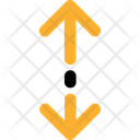 Resize Up And Down Icon