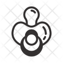 Resolution Pacifier Baby Icon