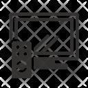 Resolution Tv Set Icon