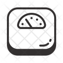 Resolution Scale Weight Icon