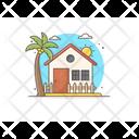 Resort Hut Cottage Icon