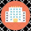 Luxurious Hotel Resort Icon