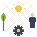 Resource People Sun Icon
