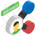 Resource Allocation Job Task Task Allocation Icon