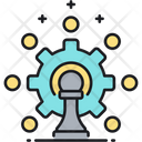 Resource Allocation Allocation Chess Icon