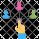 Resource Allocation Management Icon