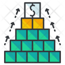 Resource Management Restructuring Icon