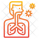 Respiration Lung Virus Icon