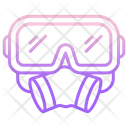 Respirator Diving Mask Diving Icon