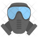 Industrial Mask Respirator Mask Chemical Mask Icon